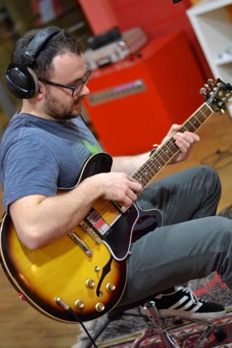 Roberto Selvatici all'Elfo Studio (foto di Michela Ghelfi)