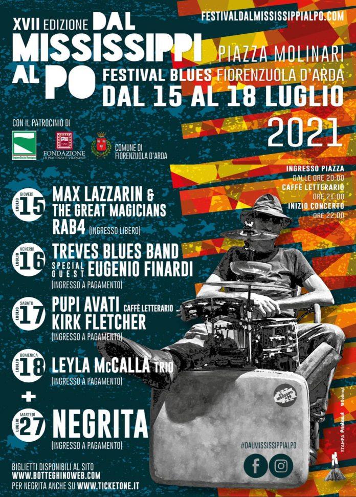 Torna Dal Mississipi al Po Festival | 4 serate di musica dal vivo